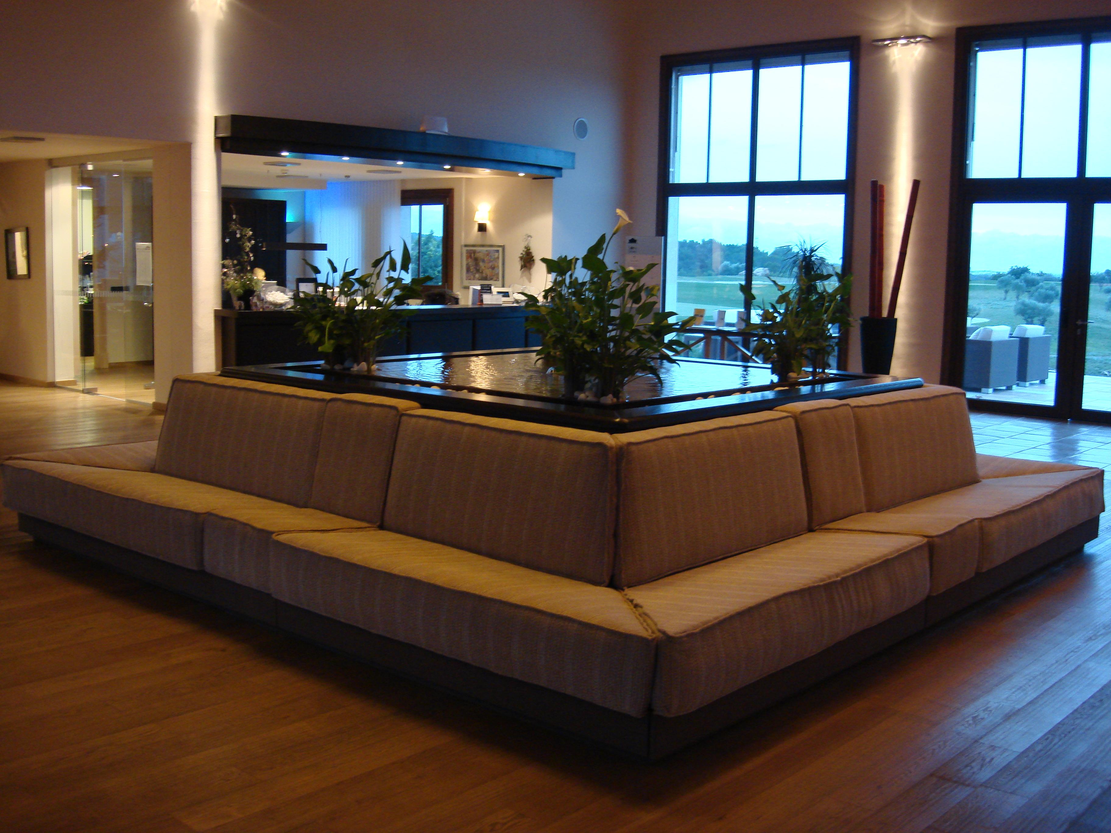 Interior Design Decoration And Furnishing At Son Gual Golf Club  # Muebles Hotel Mallorca