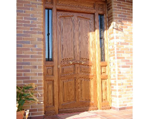 Alta decoraci n en madera artesonados escalera puertas - Muebles la solana ...