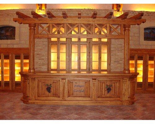 Decoraci n y amueblamiento bodegas cerd alicante for Muebles rusticos alicante