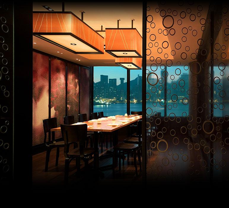 Nobu Restaurant Interior Design : Nobu japanese restaurants a unique concept also in