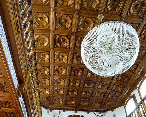 Wood coffered ceilings Ruarte