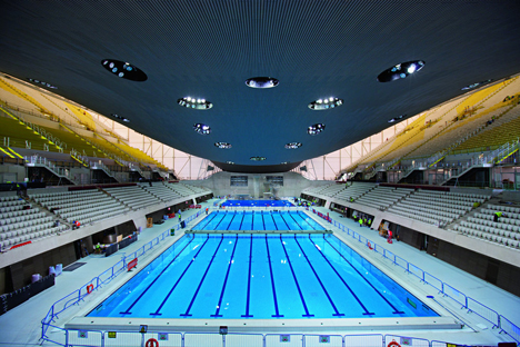 Everything is possible with zaha hadid ruartecontract blog for Piscina olimpica