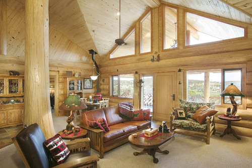 Back to roots, back to wood with log home interiors  Ruartecontract Blog