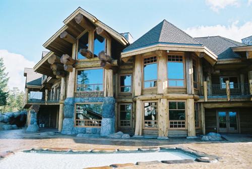 Log home interiors 6