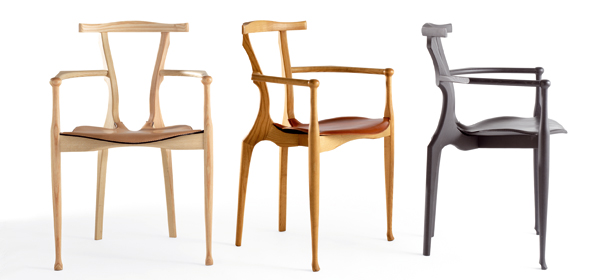 Chair Gauliano by BD Barcelona Design, Oscar Tusquets @RuarteContract