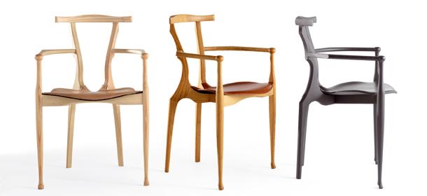 chair gauliano by bd barcelona design oscar tusquets