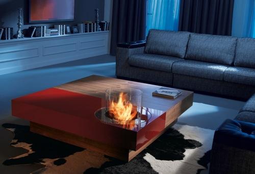 Hazte con una cálida chimenea de diseño planika, limpia y sin humo ...
