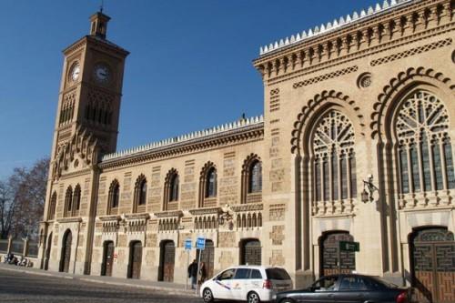 Estación de tren Toledo arquitectura neomudéjar 3 @RuarteContract