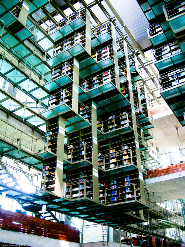Jose Vasconcelos Library Mexico DF @RuarteContract