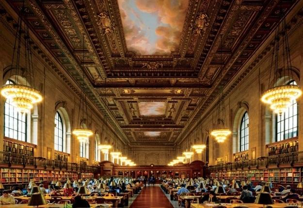 New York public library NYC @RuarteContract