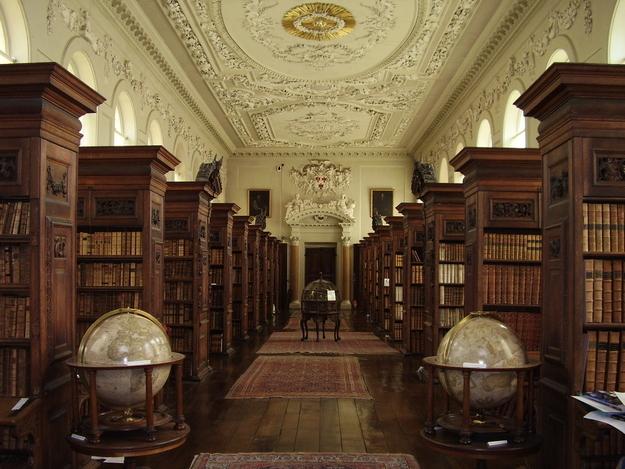 Oxford University Queen´s College library @RuarteContract