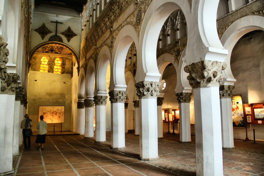 Sinagoga de Santa María la Blanca Toledo mudéjar @RuarteContract