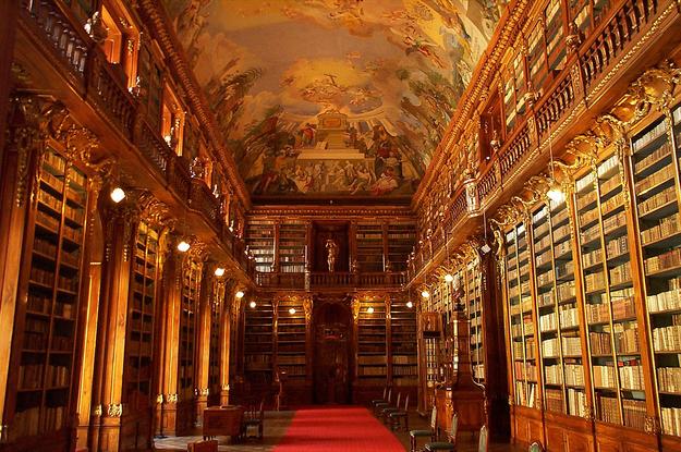 Strahov monastery library Prague @RuarteContract