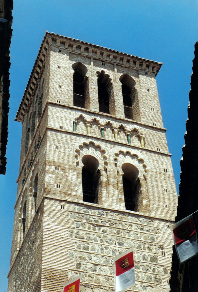 Torre de la iglesia de Santo Tomé Toledo, mudéjar @RuarteContract