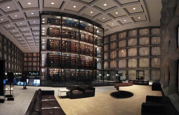 Yale University library @RuarteContract