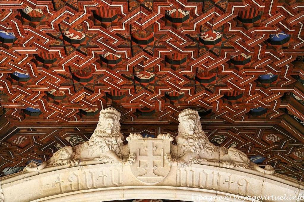 toledo-monasterio-san-juan-de-los-reyes-artesonado mudéjar claustro alto @RuarteContract