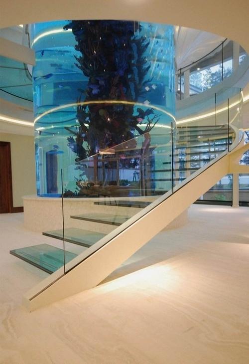 Escalera acuario @RuarteContract