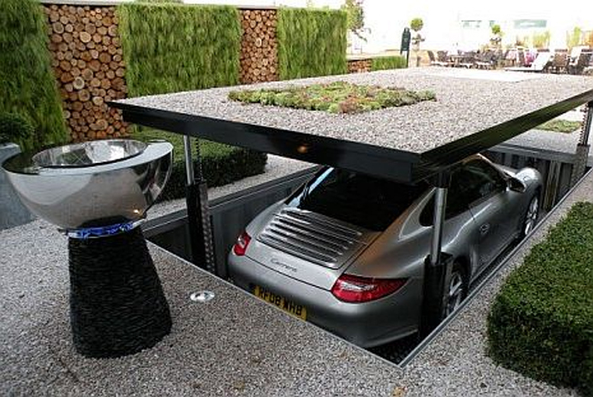 Дизайн парковки загородного дома