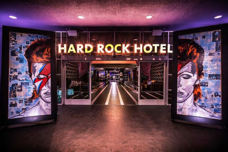 Hard Rock Hotel Palm Springs @RuarteContract