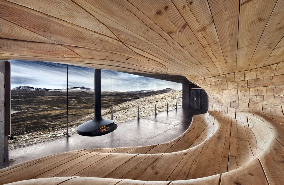 Tverrfjellhytta In Dovrefjell Natural Park 4 RuarteContract Wood Design Alta Decoracin En Madera