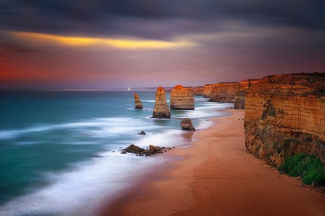 Beaches Twelve apostles, Australia @RuarteContract