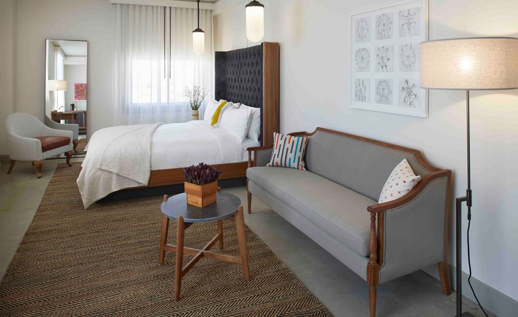 Best Urban Hotels Wallpaper @RuarteContract hoteles Hotel G San Francisco 2