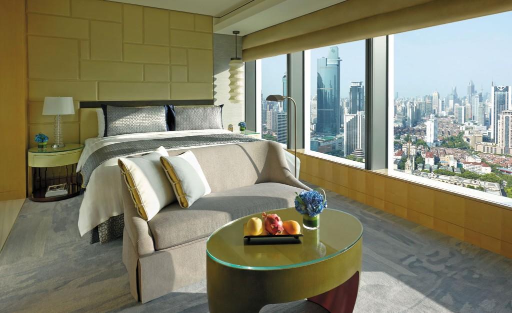 Best Urban Hotels Wallpaper @RuarteContract hoteles Jing An Shangri La Shanghai
