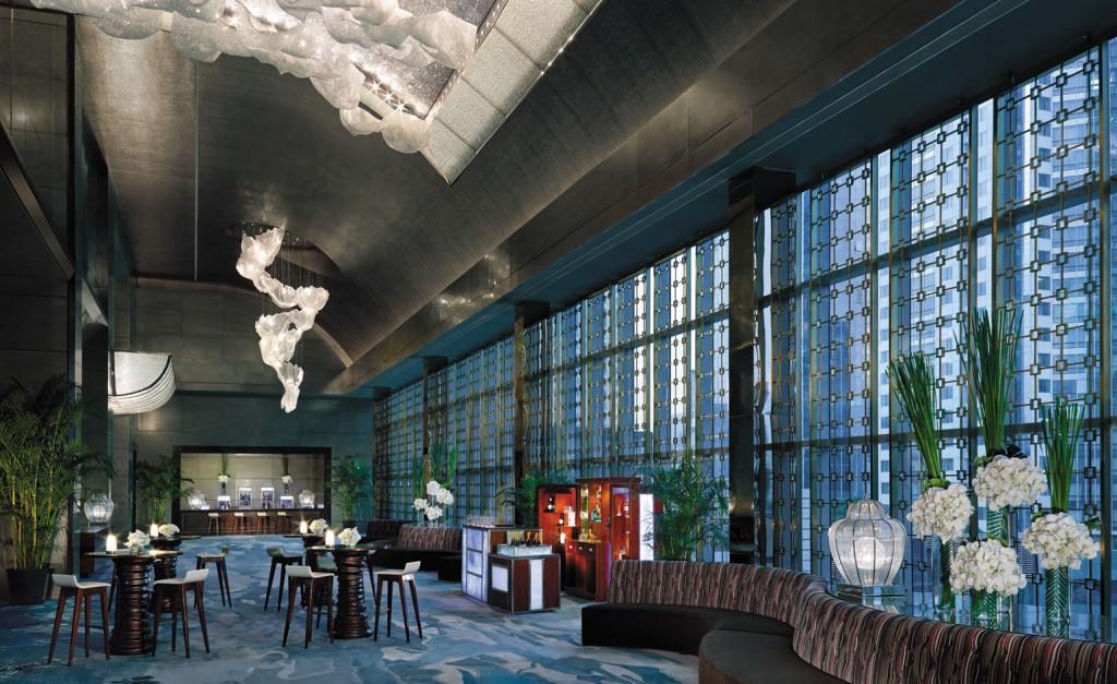 Best Urban Hotels Wallpaper @RuarteContract hoteles Jing An Shangri La Shanghai 2