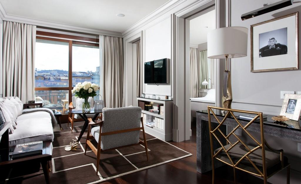 Best Urban Hotels Wallpaper @RuarteContract hoteles Portrait Firenze 2