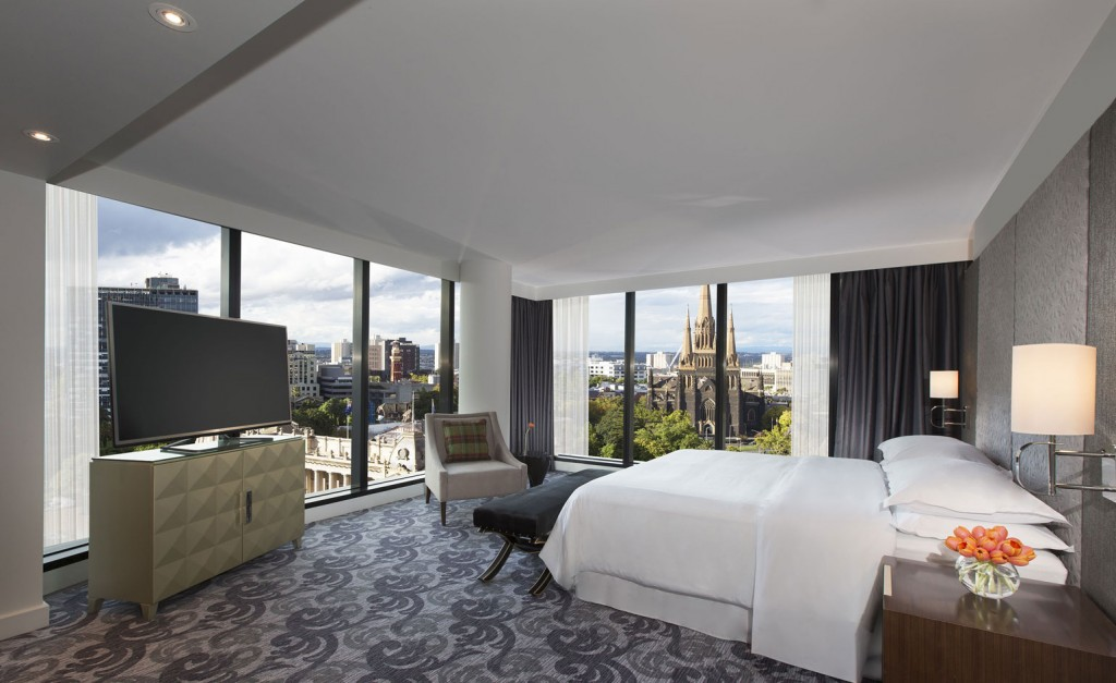 Best Urban Hotels Wallpaper @RuarteContract hoteles Sheraton Melbourne 2