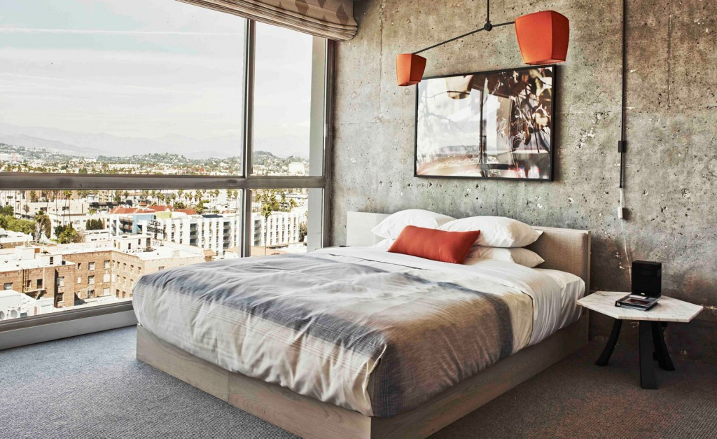Best Urban Hotels Wallpaper @RuarteContract hoteles The Line Hotel Los Angeles