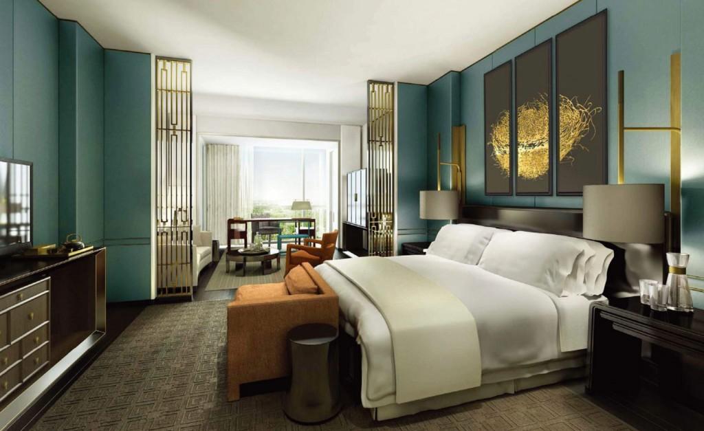 Best Urban Hotels Wallpaper @RuarteContract hoteles Waldorf Astoria Beijing 2