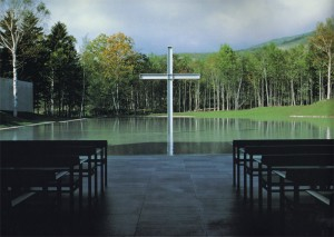 iglesia sobre el agua Tadao Ando @RuarteContract Church on the water