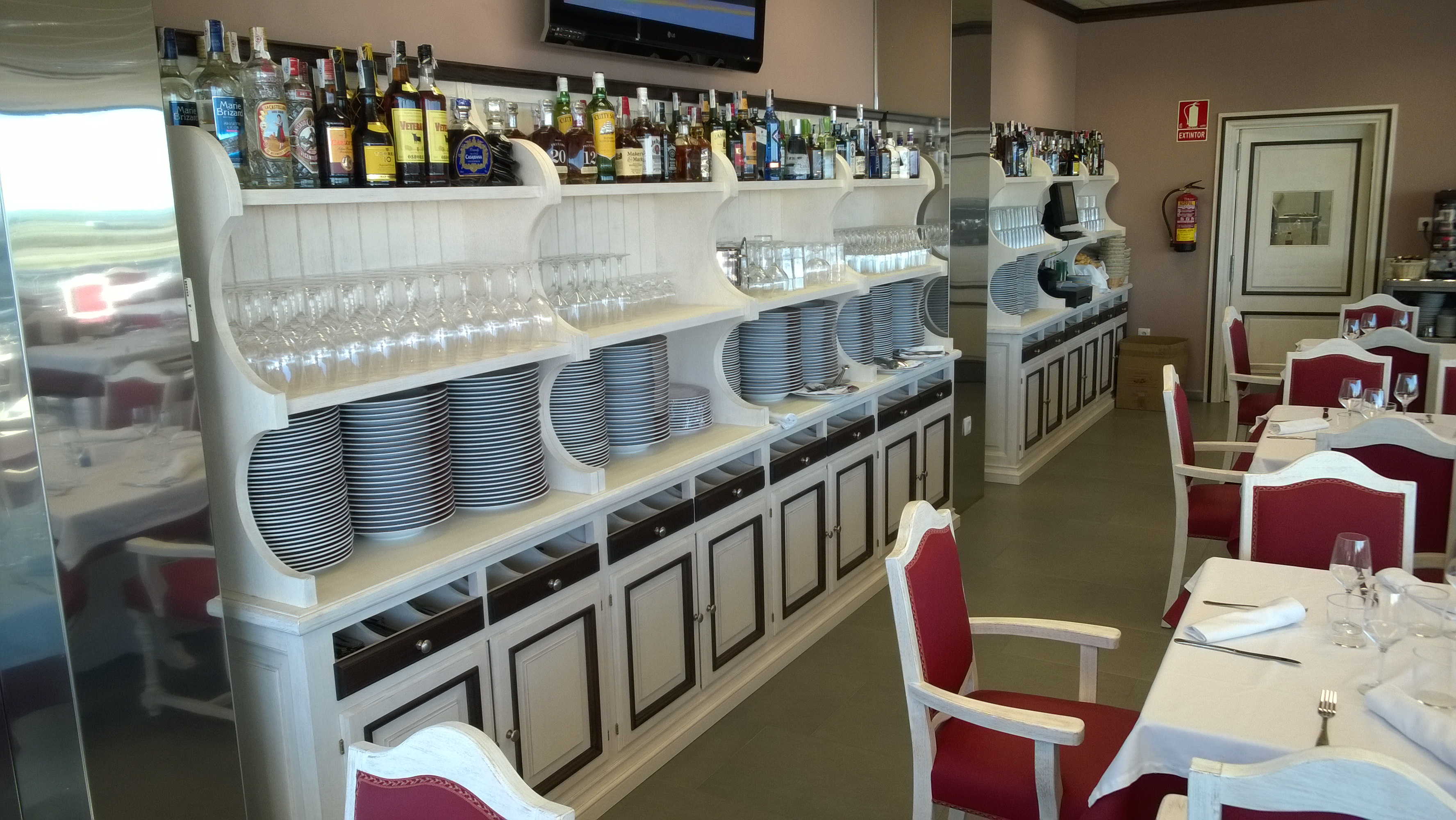 Cafetería Desguaces La Torre Madrid hotelería horeca restauración instalaciones 3 @RuarteContract