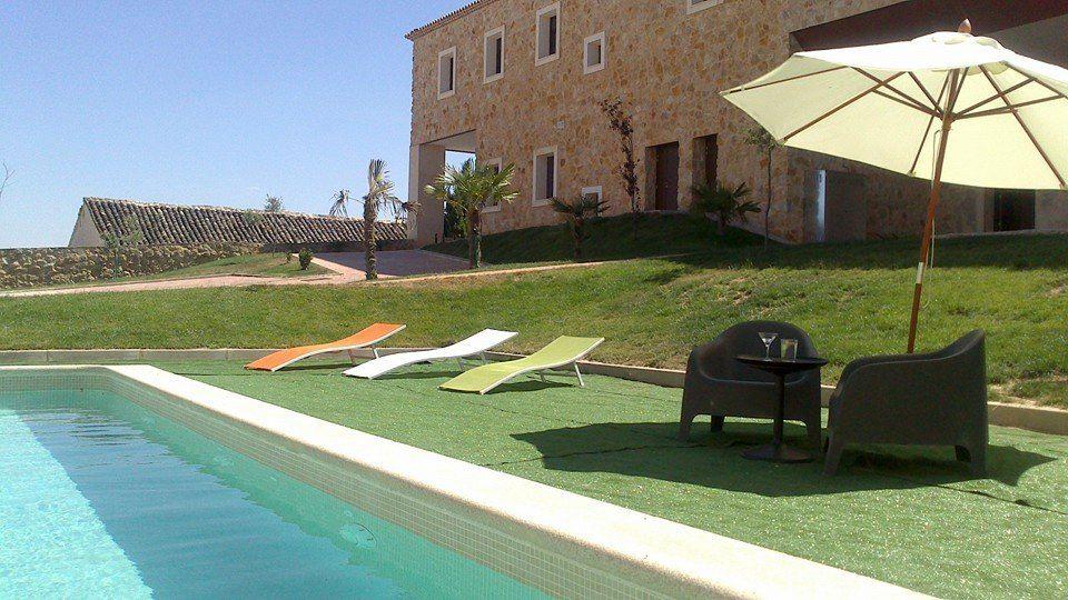 Hotel spa Infante don juan manuel belmonte cuenca decoración piscina @RuarteContract