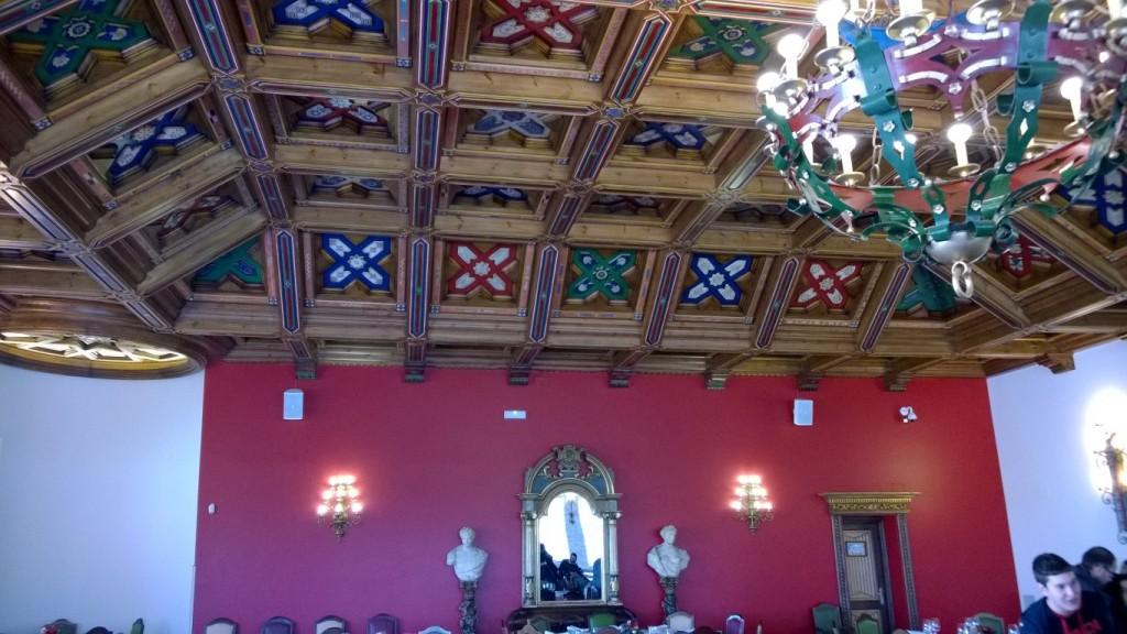 Diseño, construcción e instalación de decoración en madera, techos, puertas y mueble Restaurante Castillo de Izán Burgos @RuarteContract (18) (Medium)