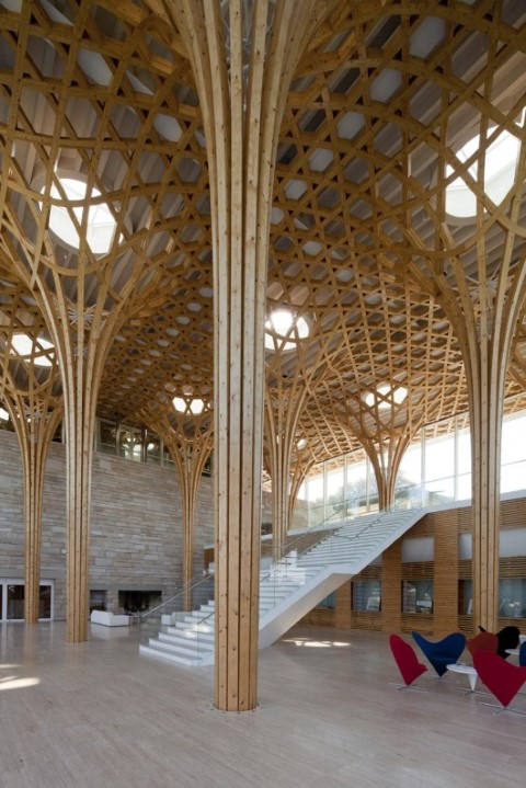 Nine bridges country club Shigeru ban architects@RuarteContract (Small)