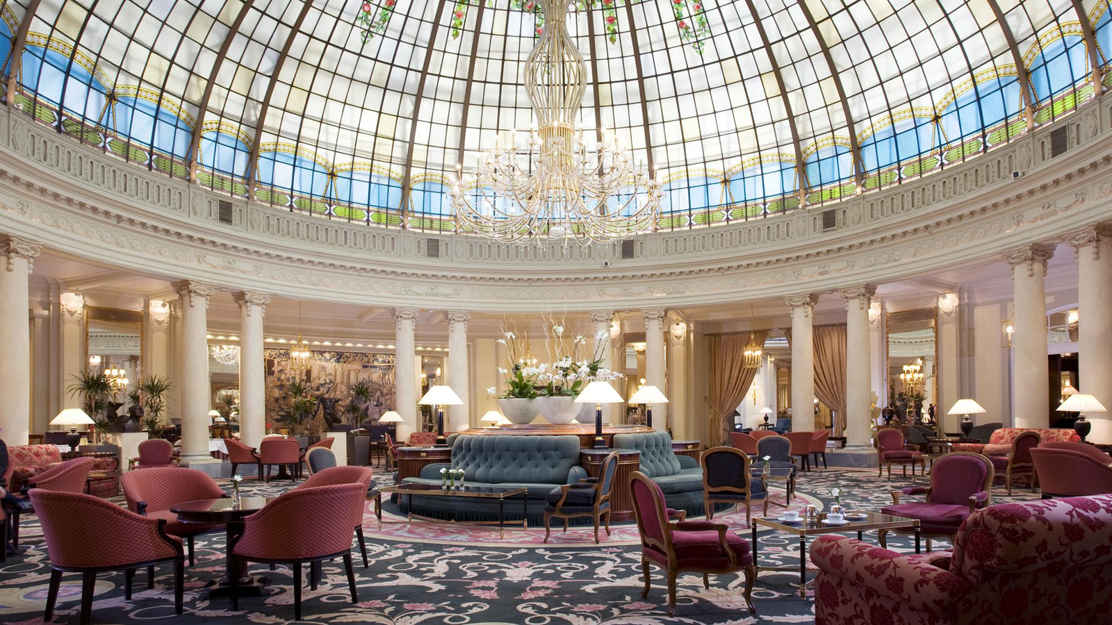 Ritz and palace two legendary luxury hotels history of - Hotel palace de barcelona ...
