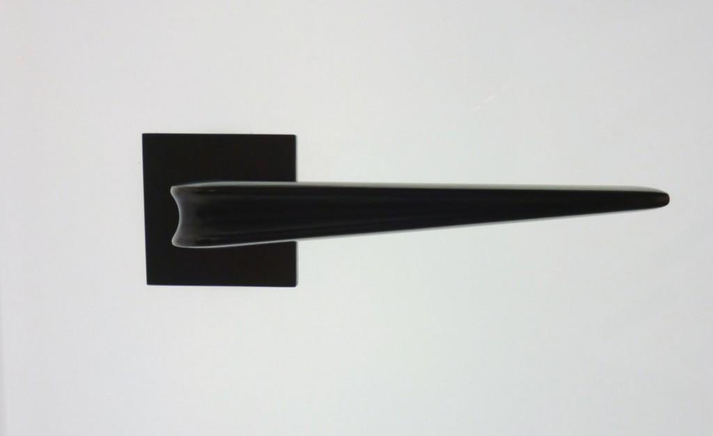 Furniture isaloni 2015 @RuarteContract Zaha Hadid created the 'chevron' door handle for Olivari