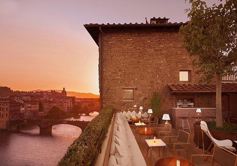 Salvatore Ferragamo hotel Continentale Florencia y Roma