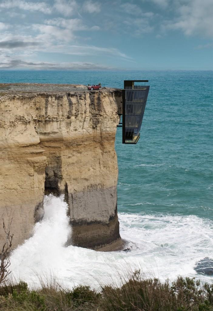 Cliff House Australia @RuarteContract #nature #design #arquitectura #paisajes