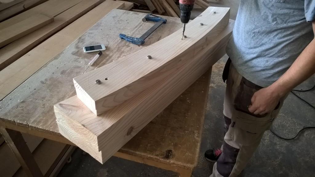 Escaleras de caracol en madera para interiores #escaliers #stairways #carpintería #ebanistas #decoracion #madera @RuarteContract 6
