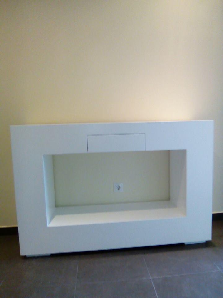 Os presentamos la decoraci n en lacado y fresno de nuestra for Outlet muebles hogar y decoracion madrid