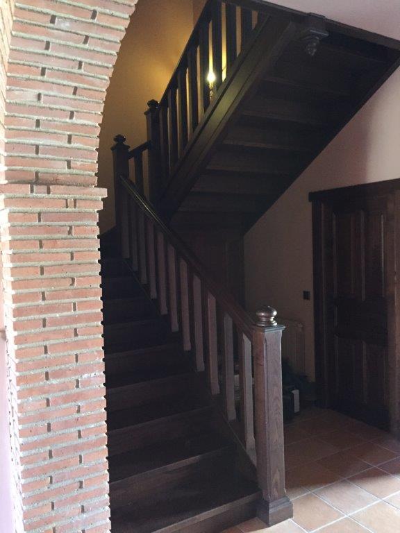 Decoración y amueblamiento finca Extremadura, interiorismo y arquitectura interior en madera 3 @RuarteContract