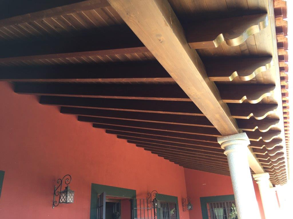 Decoración y amueblamiento finca Extremadura, interiorismo y arquitectura interior en madera 9 @RuarteContract