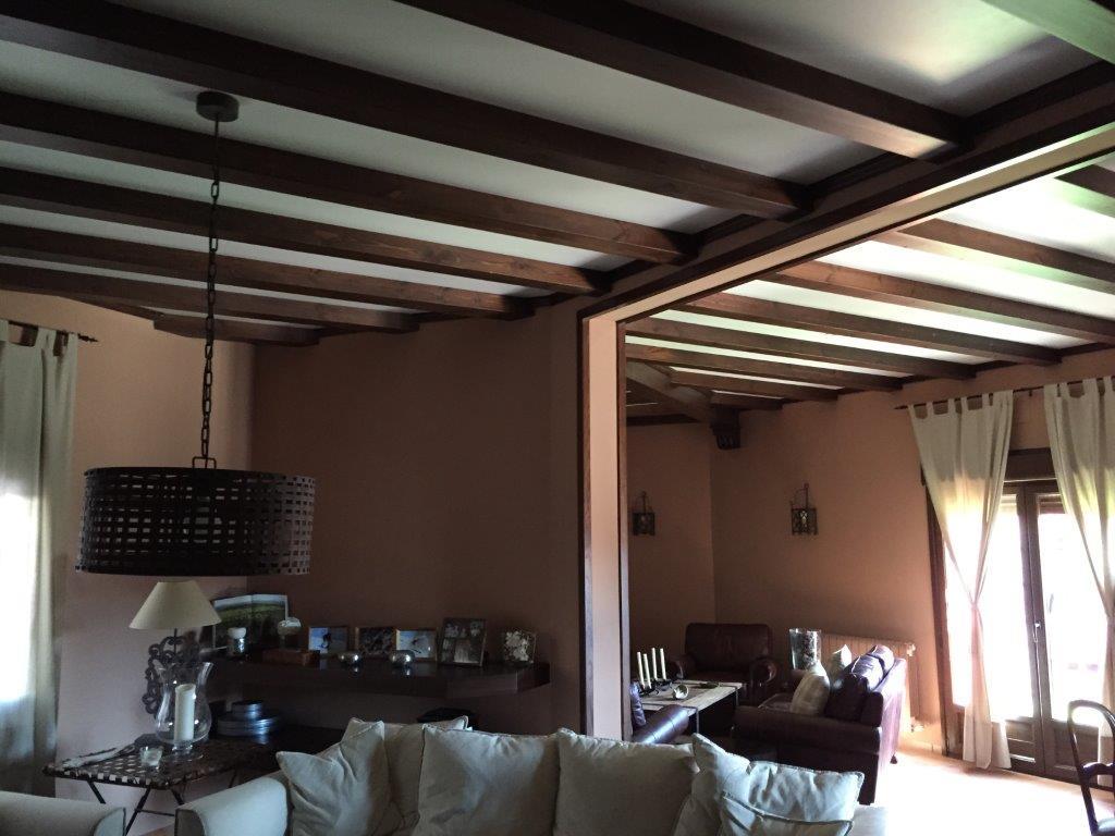 Decoración y amueblamiento finca Extremadura, interiorismo y arquitectura interior en madera @RuarteContract