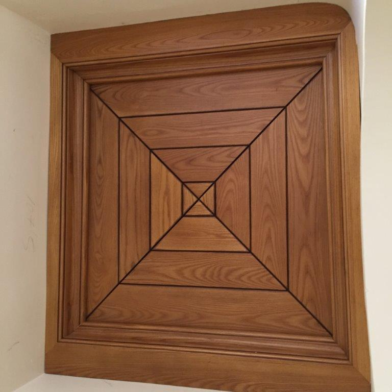 Vivienda de lujo en alicante con techos artesonados - Puertas para muebles ...